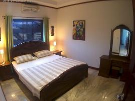 Master bedroom med on suite badrum