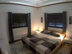 Sovrum 2 med dubbelsäng
