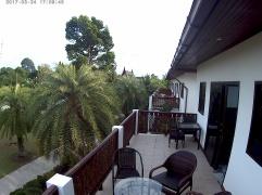 Terrassen från master bedroom