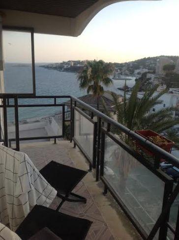 Terrassen från sovrummen