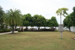 Gron yta for fotboll, badminton, volleyball, mm
